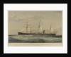 Screw steam ship 'Sultan' by Thomas Goldsworth Dutton