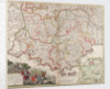 Map of the Provence, France by Johann Baptist Homann