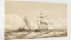 Double canoe off Moalu, Feejee Islands, Septr 26th 1849 [Fiji] by Edward Gennys Fanshawe