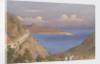 Fort of Suda [Souda], and entrance to Suda Bay, Candia [Crete], Octr. 24th 1857 by Edward Gennys Fanshawe