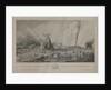 The wreck of the 'Nympha Americana' a Spanish corsair, near Beachy Head, 29 November 1747 by John Henry Hurdis
