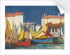 La Rochelle: fishing boats at the Quai des Dames, in front of the fish market by John Everett
