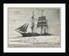 The 'Terra Nova' (1884) held up in the pack by Herbert George Ponting