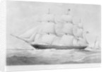'Walmer Castle' (1855) under way by unknown