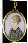 Portrait of a young boy, formerly thought to be Horatio Nelson by unknown