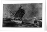 Loss of RMS 'Titanic', 1912 by Charles Dixon
