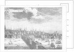 A prospect of the city of London, Plate I by unknown