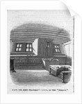 Captain Sir John Franklin's cabin in the 'Erebus' by unknown