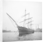 'Cutty Sark' (1869) at anchor by unknown
