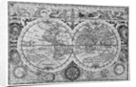 Early 17th century map of the world, after Mercator, with inset portraits of explorers (Drake, Magellan, Thomas Cavendish and Oliver van der Nort), the elements, and eclipses by unknown