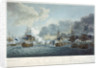 Attack on the Danish fleet and batteries at the Battle of Copenhagen, 2 April 1801 by J.T. Serres