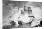 Action between the 'Mars' and 'L' Hercule' on the night of 21 Apri 1798 by unknown
