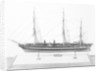 Model of ironclad battleship HMS 'Warrior' (1860) by unknown