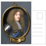 Miniature portrait of James, Duke of York (1633-1701), later King James II. by Samuel Cooper