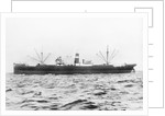 SS 'Gryfevale' portside view, circa 1929 by unknown