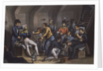 Nelson sits wounded in the cockpit of HMS 'Vanguard' during the Battle of the Nile, 1-3 August 1798 by M. Dubourg