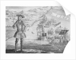 Captain Bartholomew Roberts, pirate, at Whydah by B. Cole