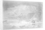 Loss of His Majesty's Ship 'Venerable'... Shipwreck on the Night of the 24th November 1804 on the Rocks in Torbay by John Theophilus Lee