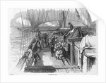 Emigrants on deck by unknown
