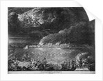 The bombardment of Dieppe, 1694 by R. Robinson