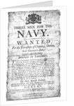 Three men for the Navy by unknown