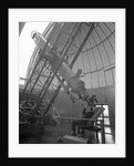 Using the equatorial telescope, Royal Observatory, Greenwich by unknown