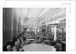 Dining area of the Cunard liner RMS 'Queen Mary' (1936) by unknown