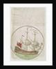 The King's ship 'Mounk' by Edward Barlow