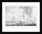 The defeated French and Spanish fleets after the Battle of Trafalgar, 21 October 1805 by Robert Dodd