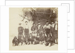 At Cape York - Group of Arctic Highlanders and Seamen of the Expedition by unknown