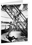 Using the 28-inch refracting telescope at Royal Observatory, Greenwich by unknown