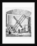 Interior of the Equatorial Building, the Royal Observatory, Greenwich by unknown