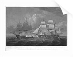 His Majesty's Frigate 'Dryad' of 36 Guns, bringing to close Action the French Frigate La 'Proserpine' 40 Guns, off Cape Clear, on 13th of June 1796... dedicated to Captain... Lord Amelius Beauclerk.... by Thomas Whitcombe