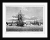 The Essex East Indiaman Refitted, and at Anchor in Bombay Harbour by Thomas Luny