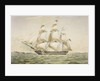 The Earl Balcarras East Indiaman 1488 tons by Thomas Goldsworth Dutton
