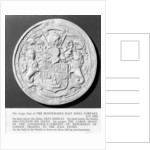 Seal of East India Company, 1675 by unknown