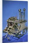 Marine timekeeper (H1), side and back by John Harrison