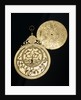 Astrolabe: obverse and plate by Muhammad Mahdi al-Yazdi