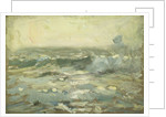 Seascape from Cobo Bay by Herbert Barnard John Everett