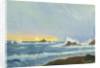 A coastal view, Grande Rocque by John Everett