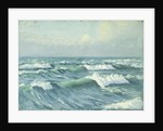 Seascape in Jersey by Herbert Barnard John Everett