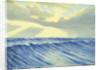 Seascape from the 'Penaglis M. Hadoulis' by Herbert Barnard John Everett