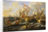 The Battle of Actium, 2 September 31 BC by Lorenzo A. Castro