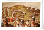 The Siege of Malta: Arrival of the Turkish Fleet, 20 May 1565 by Matteo Perez d'Aleccio