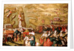 The Siege of Malta: Siege and bombardment of Saint Elmo, 27 May 1565 by Matteo Perez d'Aleccio
