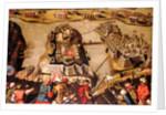 The Siege of Malta: Siege and bombardment of St Michael, 28 June 1565 by Matteo Perez d'Aleccio