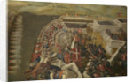 The Siege of Malta: Assault on the post of the Castilian knights, 21 August 1565 by Matteo Perez d'Aleccio