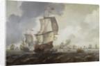 A battle of the First Dutch War, 1652-54 by Reinier Nooms