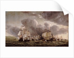 The Battle of Leghorn, 4 March 1653 by Reinier Nooms