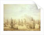 The Battle of Scheveningen, 10 August 1653 by Willem van de Velde the Elder